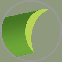 Hình dáng sợi cỏ nhân tạo, hình chữ C
