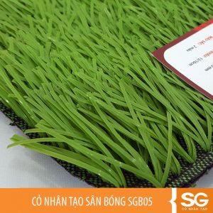 Cỏ nhân tạo làm sân bóng đá mini 5, 7 người giá rẻ, cỏ cao 5cm