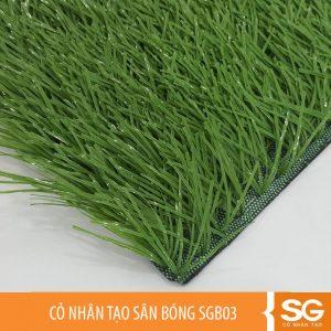 Cỏ nhân tạo sân bóng đá mini 5 7 người giá rẻ, chiều cao cỏ là 5cm