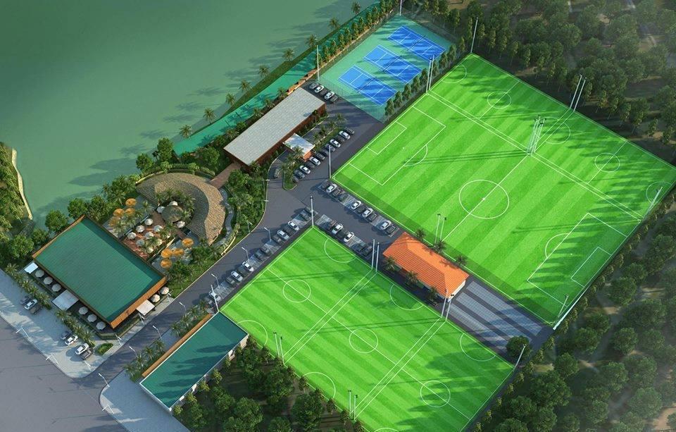 Thiết kế sân cỏ nhân tạo
