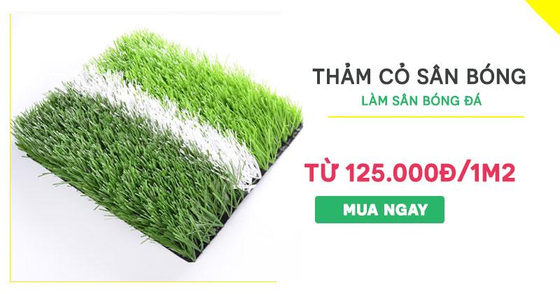 cỏ nhân tạo sân bóng đá giá rẻ nhất