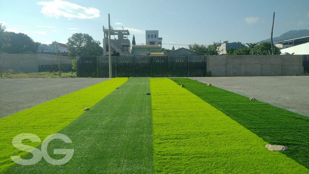 Thi công sân bóng đá cỏ nhân tạo