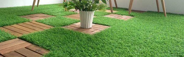 Vỉ cỏ nhân tạo lót sàn