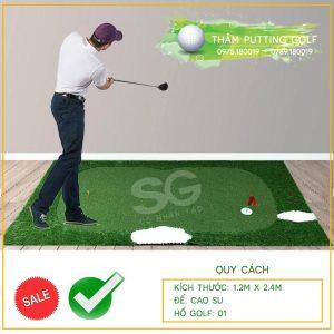 Thảm tập golf tại nhà